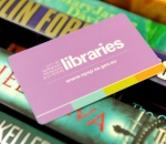 Image of a library card