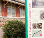 Cultural Heritage sign outside Payneham Community Centre