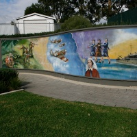 28. Mural, Otto Park, First Avenue, St Peters