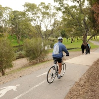 River Torrens Linear Park - shared path