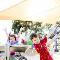 Payneham Oval Playground - water play