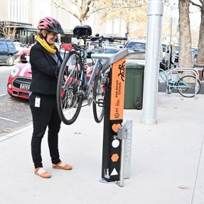 Bike repair station example 1