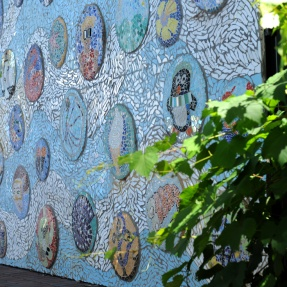 21. Bubbles Mosaic Panel, Norwood Swimming Centre