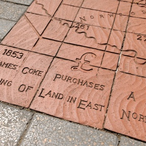 13. Terracotta pavers, James Coke Park