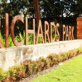 Richards Park, Norwood - entrance