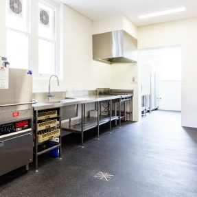 St Peters Banquet Hall Commercial Kitchen