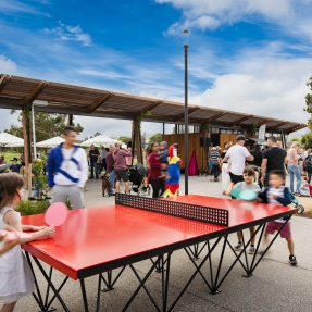 Felixstow Reserve, Felixstow - table tennis