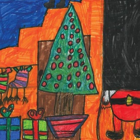 Mayor's Christmas Card Competition - 1st Place, Year 1