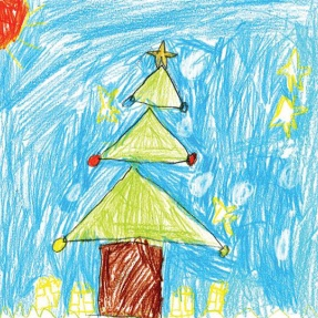 Mayor's Christmas Card Competition - 1st Place, Year 2