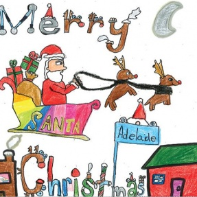 Mayor's Christmas Card Competition - 1st Place, Year 3