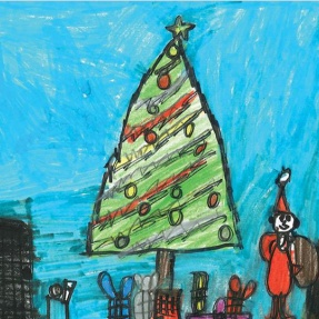 Mayor's Christmas Card Competition - 2nd Place, Year 1