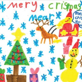 Mayor's Christmas Card Competition - 2nd Place, Year 2