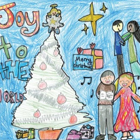 Mayor's Christmas Card Competition - 2nd Place, Year 3