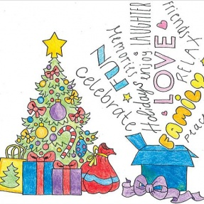 Mayor's Christmas Card Competition - 2nd Place, Year 7