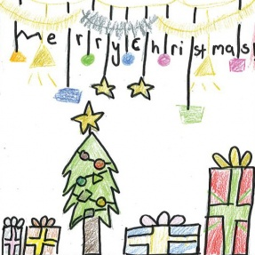 Mayor's Christmas Card Competition - 3rd Place, Year 2