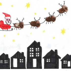 Mayor's Christmas Card Competition - 3rd Place, Year 4