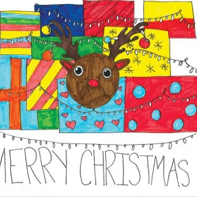 Mayor's Christmas Card Competition - 3rd Place, Year 5