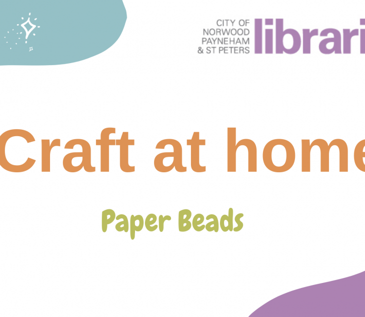 Craft at home: Paper Beads