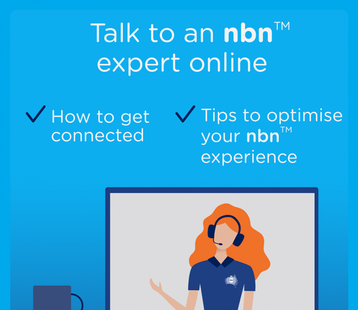 NBN Co online and telephone information sessions