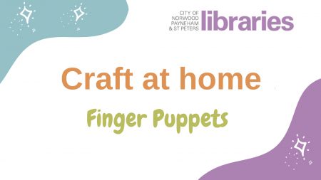 Image for Craft at Home: Finger Puppets