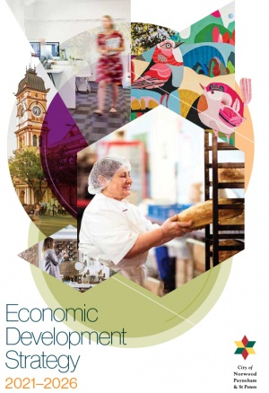 Economic Development Strategy 2021-2026 Cover