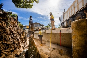 Norwood Council - Schweppes Drainage Progress - May 2020-2