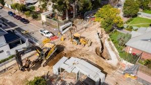 Norwood Council - Schweppes Drainage Progress - May 2020-27